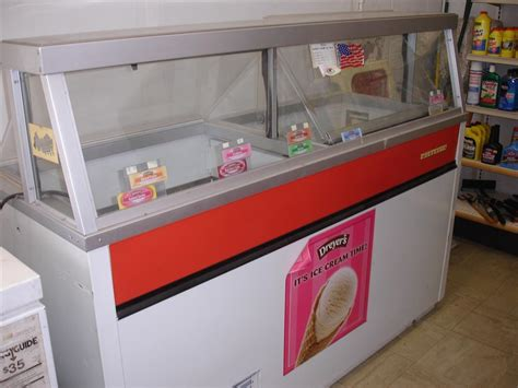 used ice cream dipping cabinet hussman ice cream dipping c 158629 for sale used
