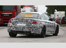 BMW M4 Convertible spied for first time, Coupe in light