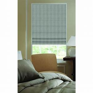 first rate blinds greysmoke ashton stripe 225 inch plain With 44 inch roman shades