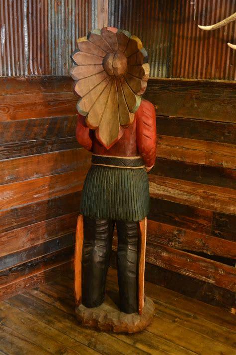 cigar store indian rustic furniture mall  timber creek