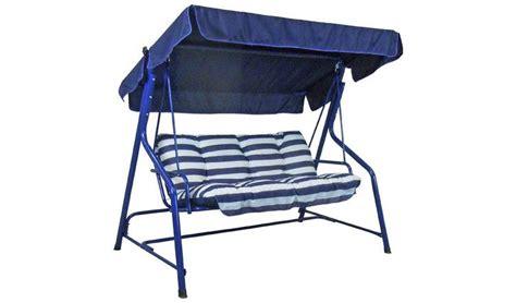 Hammock Argos by Buy Argos Home Tubular 2 Seater Swing Hammock Blue