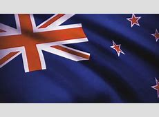 New Zealand Flag Stock Video Footage 4K and HD Video