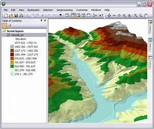 Displaying Terrain Datasets In Arcgis U2014help