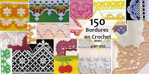 150 bordures en crochet avec patron crochet et plus