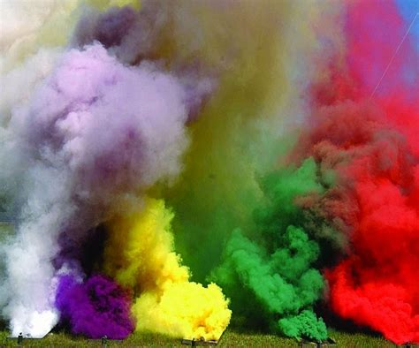 color smoke bomb colored smoke grenades