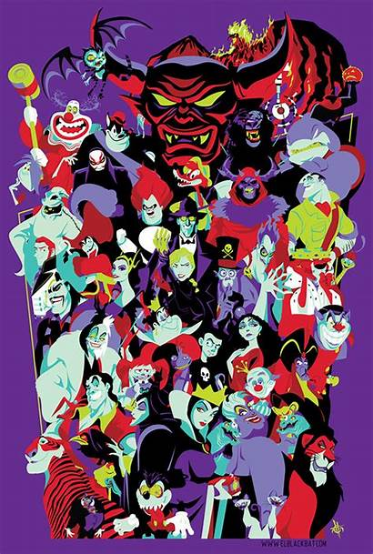 Villains Mouse Characters Updated Them