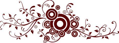 floral circles clip art  clkercom vector clip art
