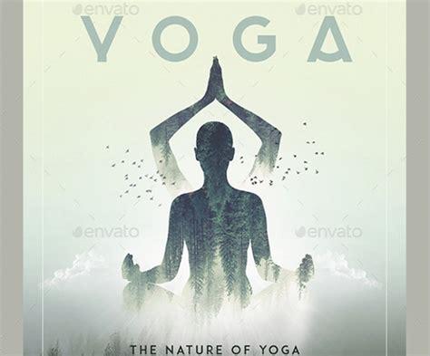 yoga flyer templates vector eps psd word formats