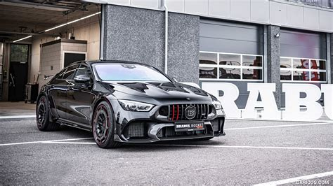 The rocket 900 is still capable of hitting 100 km/h (62 mph) in 3.7 seconds, before maxing out at 350 km/h (217 mph). 2021 BRABUS ROCKET 900 ONE OF TEN based on Mercedes-AMG GT 63 S 4MATIC+ - Front Three-Quarter ...