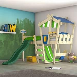 Kinderbett Mit Rutsche : wickey kinderbett hochbett spielbett mit dach crazy hutty etagenbett mit rutsche ebay ~ Orissabook.com Haus und Dekorationen