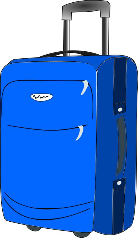 Luggage Travel Suitcase Clip Art