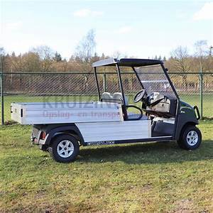 Golf Cart Club Car Carryall 700 With Cargo Box Electrical
