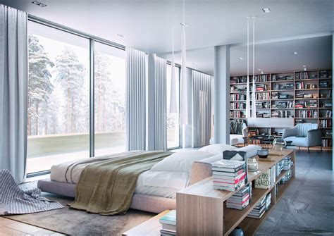 inspiring design ideas  bedrooms bookshelves