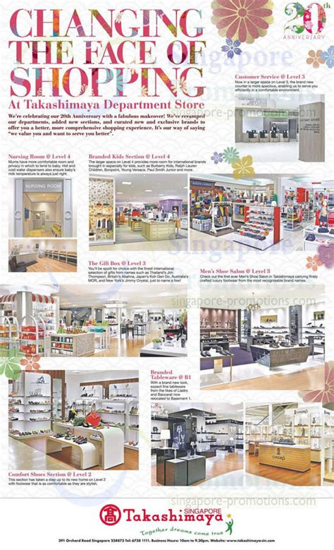 Takashimaya Makeover Highlights & Features 23 Aug 2013