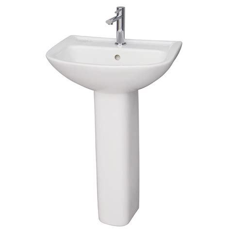 Barclay Pedestal Sink by Barclay Products Lara 510 Pedestal Combo Bathroom Sink In