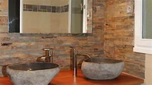 acanthe sol vasques evier salle de bain en pierre naturelle With salle de bain design avec evier en pierre bleue