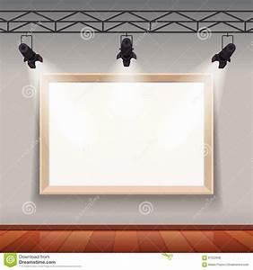 Cadre De Tableau : cadre de tableau vide dans le hall de pi ce de mus e d ~ Dode.kayakingforconservation.com Idées de Décoration