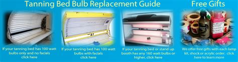 tanning bed replacement bulbs