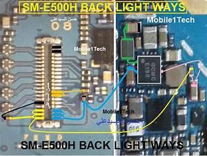 Samsung Galaxy E5 Lcd Display Light Ic Solution Jumper
