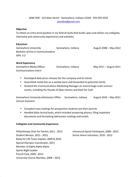 best resume for college graduate college grads how your resume should look fastweb