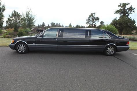 $46,750 1995 mercedes benz s600. 1995 Mercedes Benz S600 V12 Limousine for sale