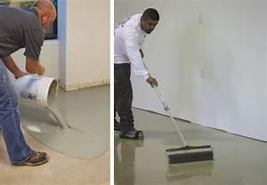 Leveling a Concrete Floor - Bob Vila