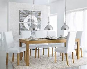 Table à Manger Maison Du Monde : une table d ner en teck massif pas ch re chez maisons du monde ~ Teatrodelosmanantiales.com Idées de Décoration
