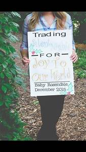 December baby announcement | Baby R | Pinterest | Baby ...