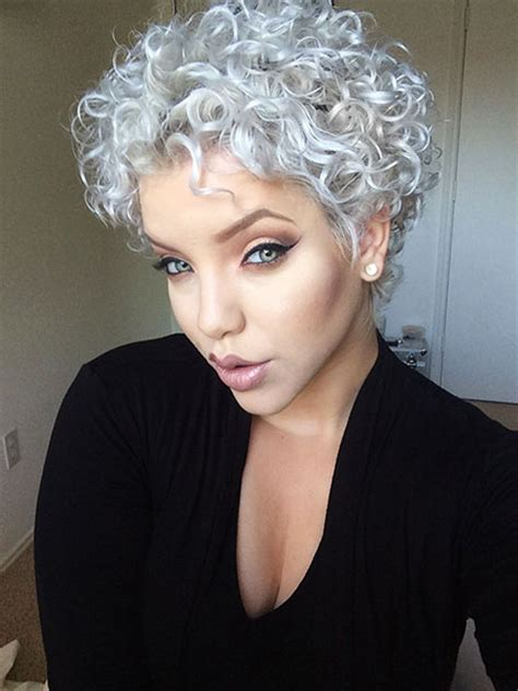 40  Best Short Hairstyles for Curly Hair   Short