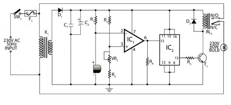 Stage Sound Wiring Diagram by Circuit Diagram Of Sound Operated Light Electrical