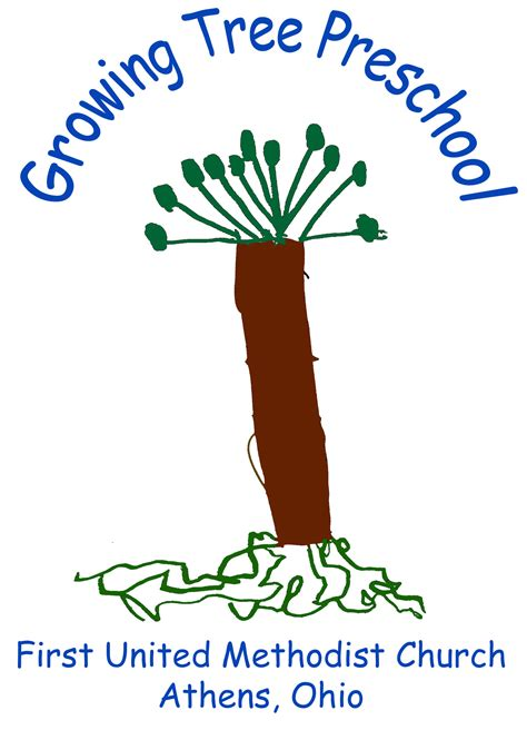 growing tree preschool united methodist church 931 | GT Logo Colorized w Words redone 3