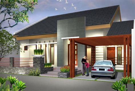 rumah minimalis putih modern