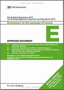 residential sound insulation design apex acoustics With part a approved documents