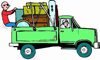 Moving Truck Pickup Removal Clipart Trucks Junk