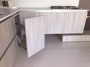 Arrital Cucine Cucina Ak 03 Moderna Laccato Opaco Tortora Cucine A ...