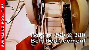 Polaris 360  380 Belt Replacement