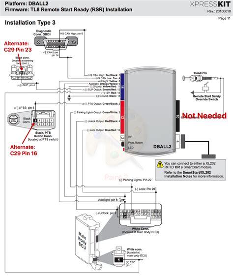 Dei Dball Remote Start Install Using Oem Fob