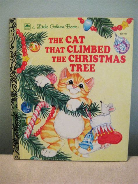 vintage little golden book the cat that climbed the