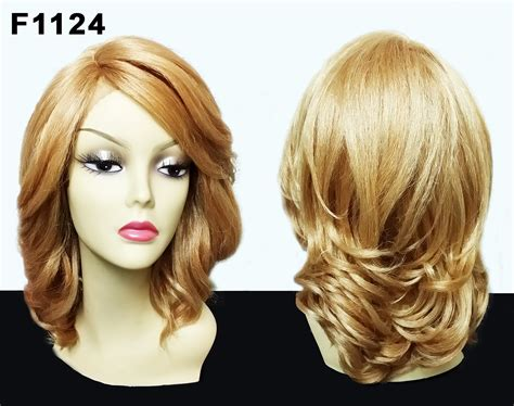Vanessa Synthetic Lace Front Side Part Wig