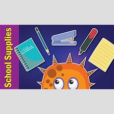 School Supplies Song For Kids  What Do You Have? Song  Fun Kids English Youtube