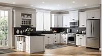 home depot kitchens Create & Customize Your Kitchen Cabinets Shaker Wall Cabinets in White – The Home Depot