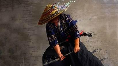 Samurai Hat Japanese Traditional Straw Katana Clothes