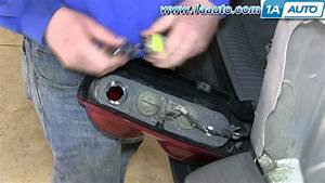 How To Replace Tail Light And Bulb 05