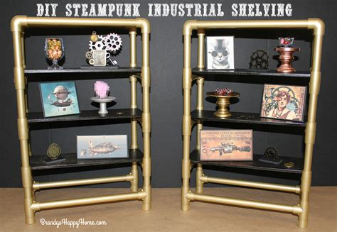 steampunk industrial shelving  american girl dolls