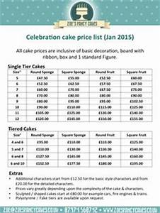 cake order contract cupcake tier rental form pdf pdf With cake price list template