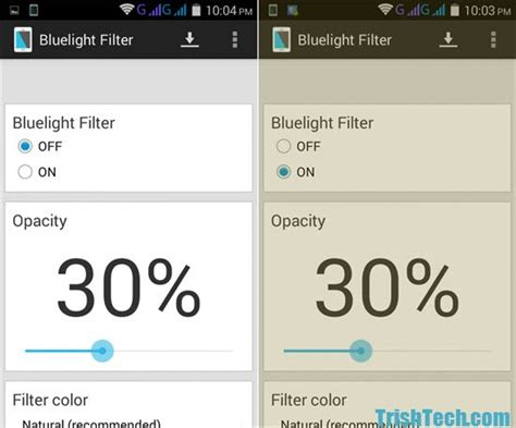 blue light filter for laptop protect eyes from blue light with bluelight filter for android