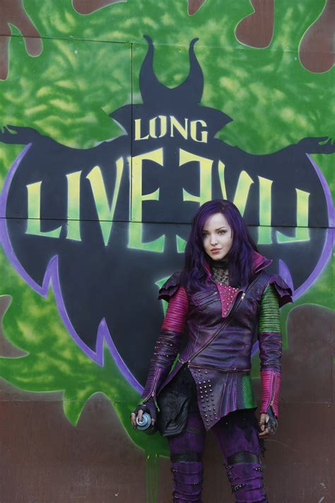 Photos Exclusive Dove Cameron Gets Wicked In