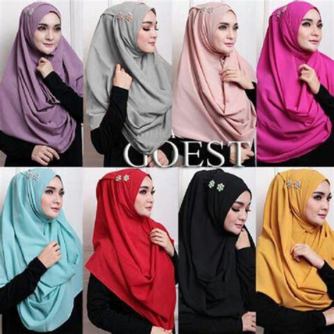 jilbab pashmina instan oshira model jilbab terbaru