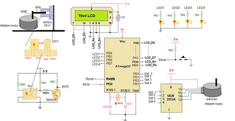 Micro Controller Based Automatic Stepper Motor Step Angle