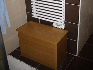Banc Pour Salle De Bain : banc en bois salle de bain ~ Dailycaller-alerts.com Idées de Décoration
